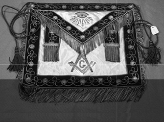Master Mason�s apron (c. early 20th century)